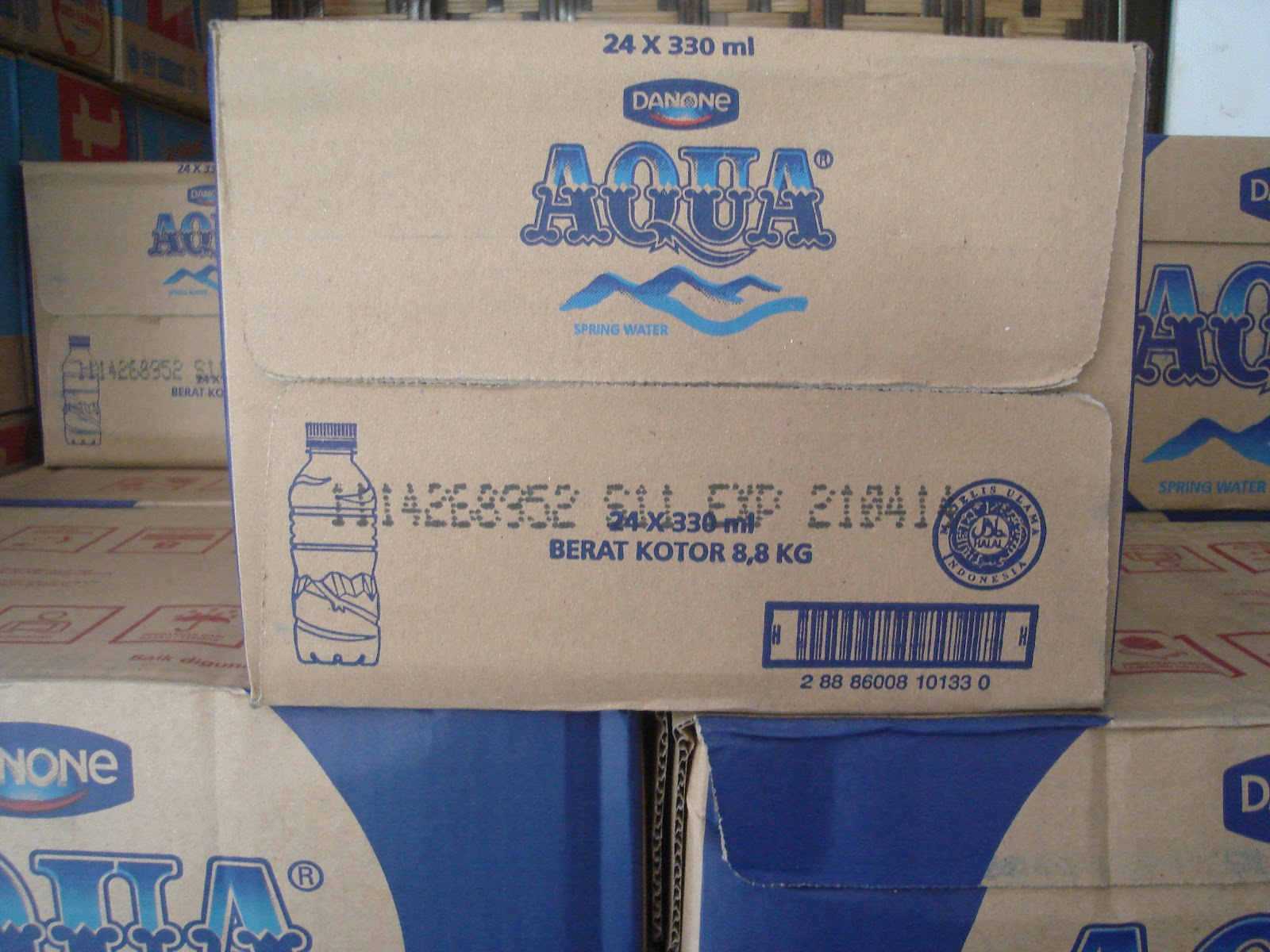 1 Galon Berapa Liter Aqua Home Service Baskoro Aqua 330 Ml