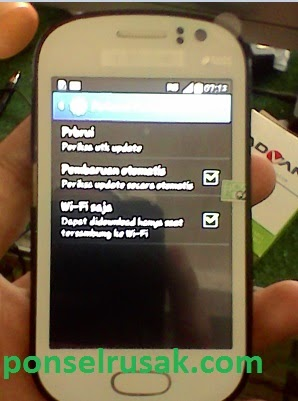 Tutorial cara update firmware samsung gt s6810 manual dengan jaringan wifi.