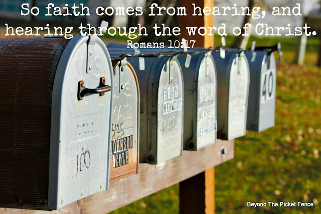 bible verse, inspiring verse, faith, God's Word, hearing from God, http://bec4-beyondthepicketfence.blogspot.com/2016/02/sunday-verses.html