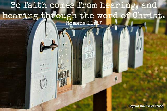 bible verse, inspiring verse, faith, God's Word, hearing from God, http://bec4-beyondthepicketfence.blogspot.com/2016/02/sunday-verses.html