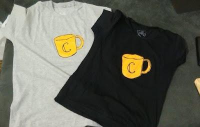 Camisetas C de Caneca