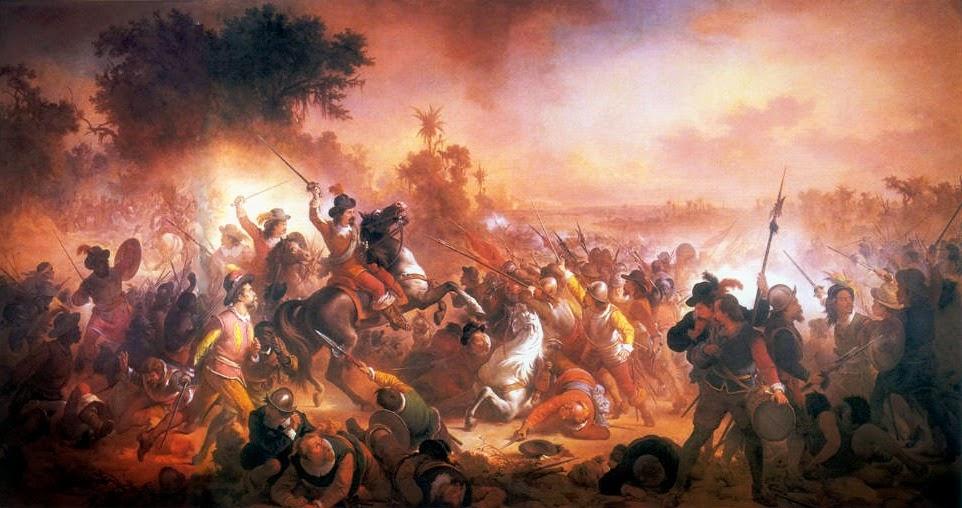 """""""Batalha dos Guararapes"""" (1879) - Victor Meirelles de Lima"""