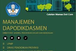 Manajemen DAPODIK Untuk Operator Dinas Dan LPMP, Petunjuk Penggunaan Aplikasi DAPODIKDASMEN Untuk Operator Dinas   Pendidikan Kabupaten Kota Provinsi Dan LPMP
