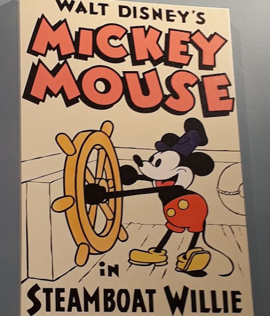 Mickey Mouse Poster of Steamboat Willie