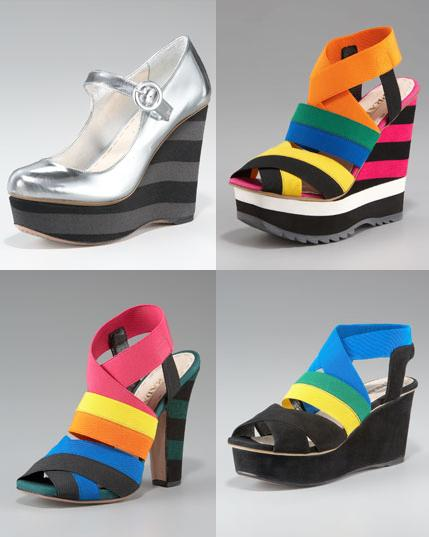 57417133a6 Prada T-strap sandals $450 --- Savvy Sis got this pair in gold which would  pair well with summer outfits.