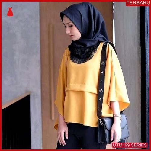 UTM199N64 Baju Nala Muslim Atasan Dewasa Mustard UTM199N64 0C7 | Terbaru BMGShop