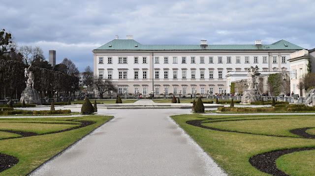 Schloss Mirabell, gardens, Salzburg