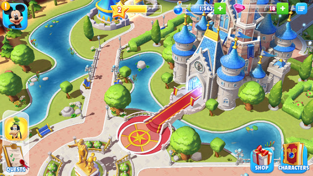 disney magic kingdoms jeu Agathe Diary