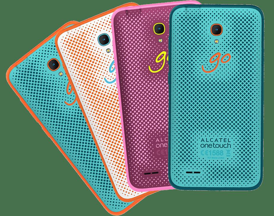 Smartphones Alcatel y ZTE