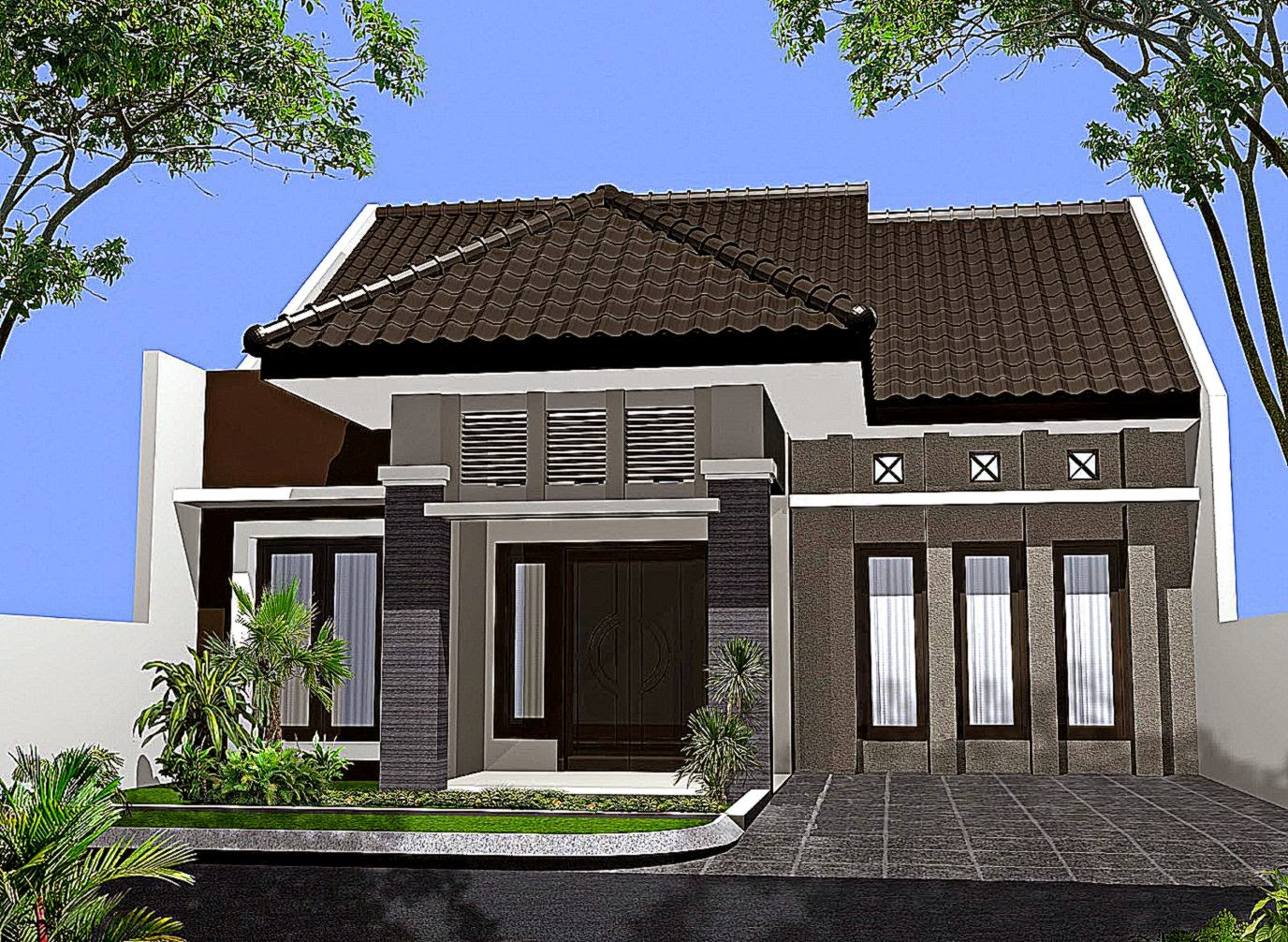 Tampak Depan Rumah Minimalis 1 Lantai Design Rumah Minimalis