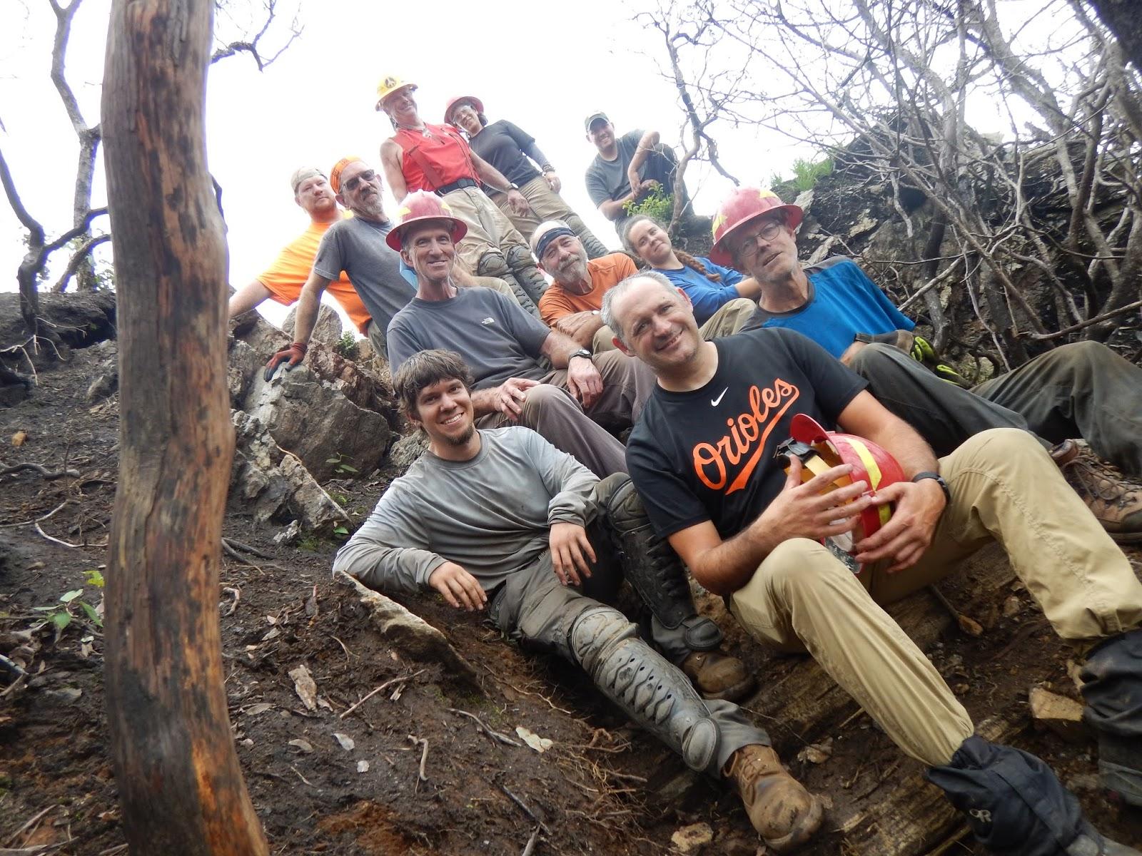 Triumphant Transcendent Trailbuilding August 2017
