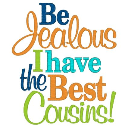 funny quotes for cousins