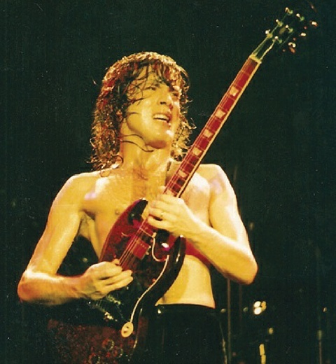 Angus Young photo in Louder than Hell Book PDF Download