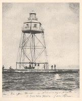 Il faro eretto nel 1867