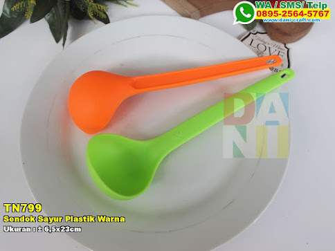 Sendok Sayur Plastik Warna