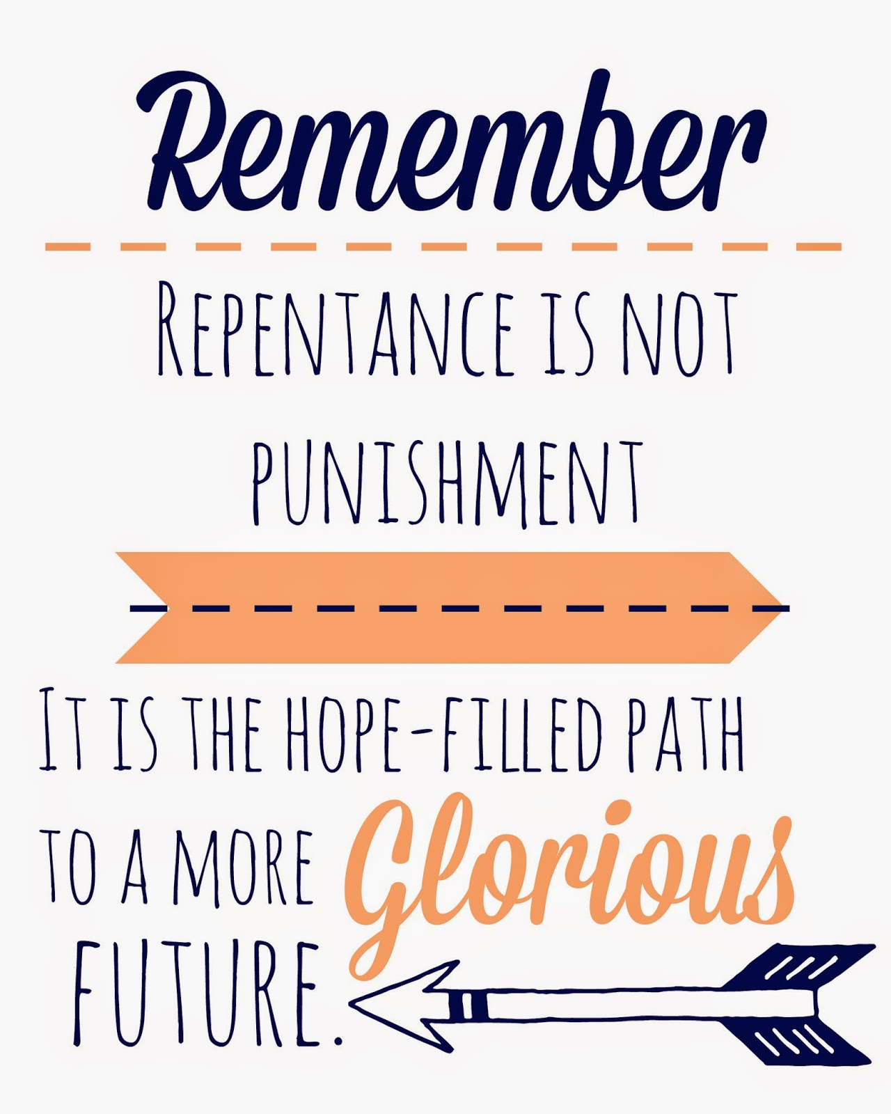 Lds Quotes On Family Home Evening: Blue Skies Ahead: Repentance Family Home Evening {Alma The ...