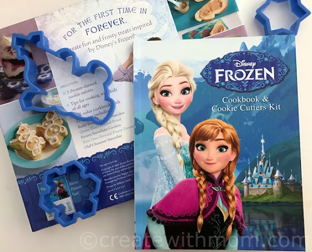 frozen themed recipe books for children
