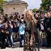 Chiara Ferragni marca presença na Front Row do desfile da Christian Dior na Semana de Moda de Paris como parte da Alta Costura Outono / Inverno 2017-2018 em Paris, França – 03/07/2017
