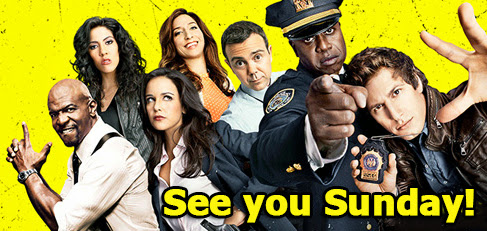 Here We Go! Brooklyn Nine-Nine Moves to Sunday