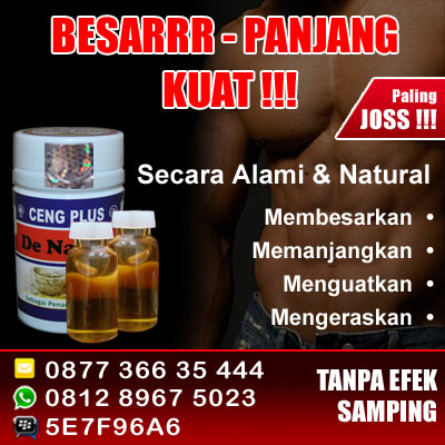 Pil Pembesar Alat Vital Herbal