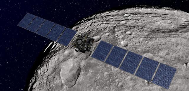 Sonda Dawn chega em Ceres