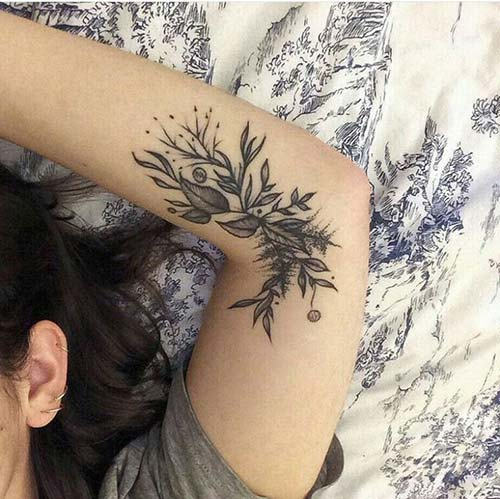 kadın kol dövmeleri arm tattoo for woman