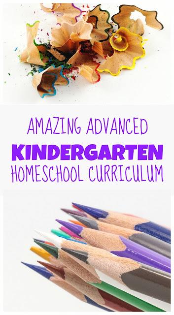 Amazing Homeschool Curriculum for First Grade/ Advanced Kindergarten