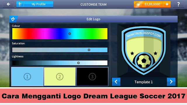cara mengganti logo dream league soccer 2017