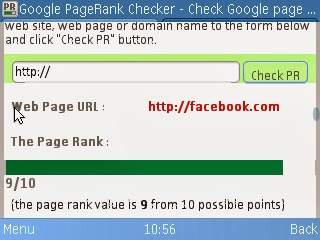 Facebook Pagerank