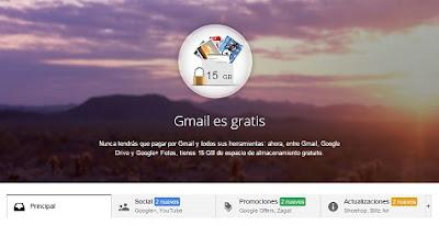Ventajas de Gmail