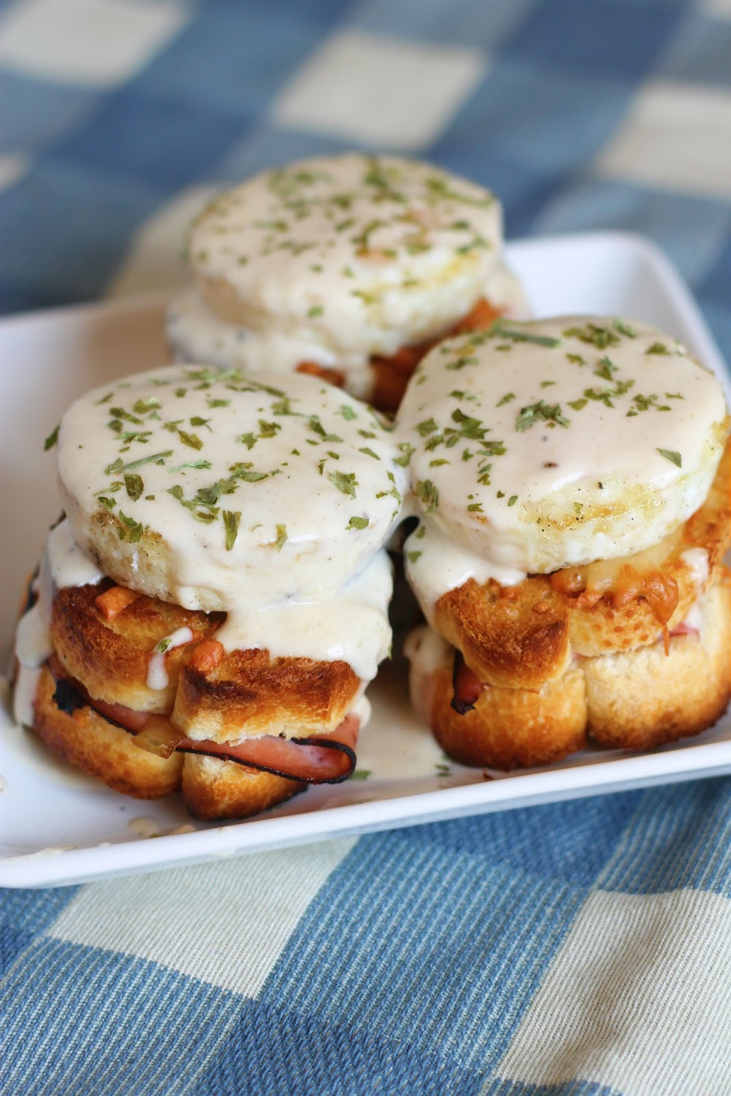 Forking Up: #EasterWeek Win a $200 gift card! - Mini Croque Madames