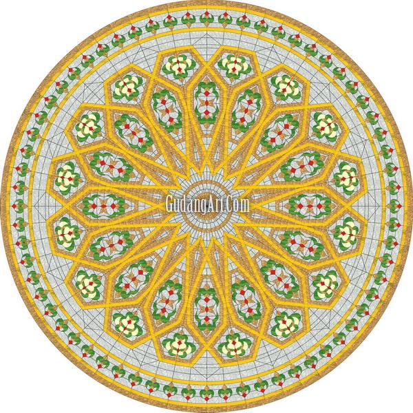 Kubah Masjid | Progress Kubah Kaca Patri Masjid Gudang Art ...