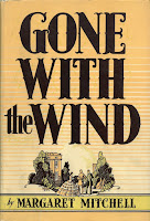 Front cover of Gone with the Wind dust jacket, 1st edition