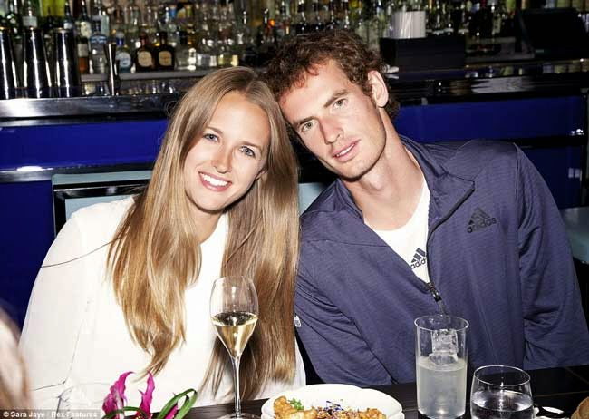 andy murray and his future wife kim sears