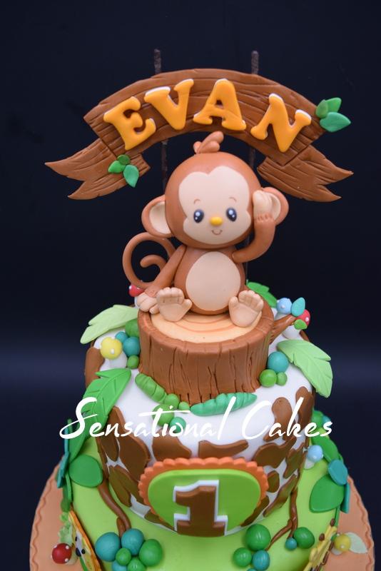 Cakeinspiration Singapore 1st Year Horoscope Year Of The Monkey 3d