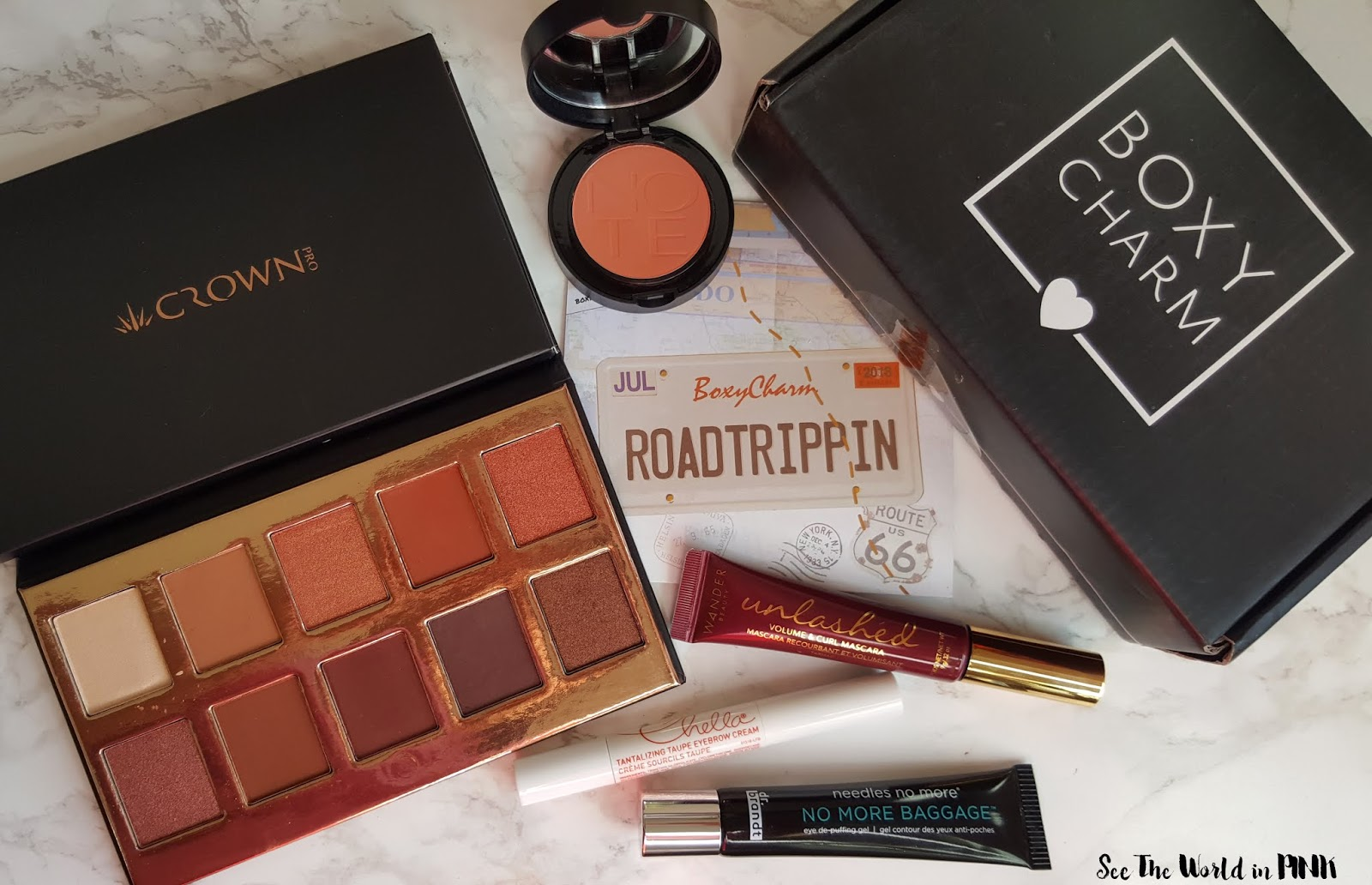 July 2018 Boxycharm - Unboxing and Review!