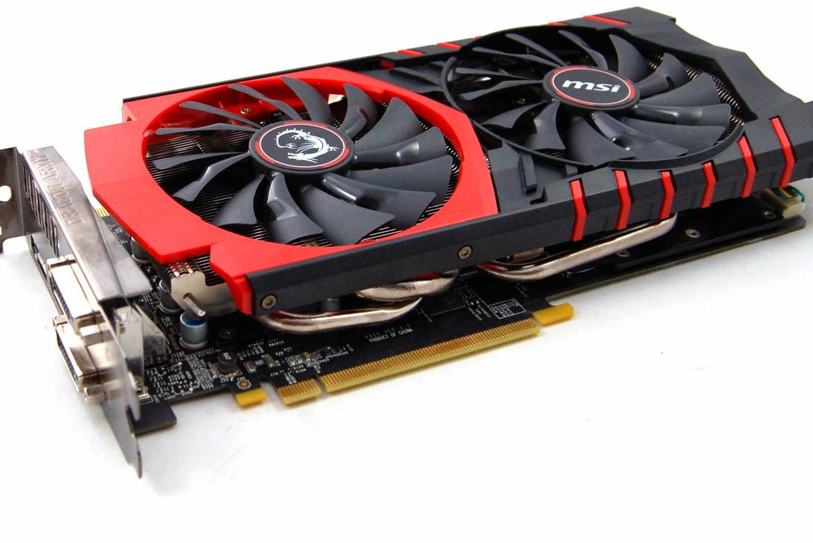 Harga terbaru VGA MSI versi gaming - GeForce GTX 970