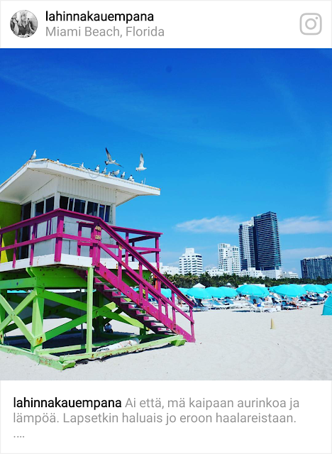 Miami Beach, Florida - uimakoppi, hengenpelastajan koppi