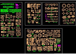 Conjunto De Bloques Autocad 2d Arq Recursos