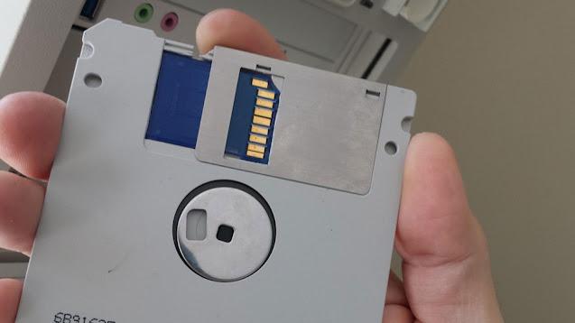 capacidad de almacenamiento disquete