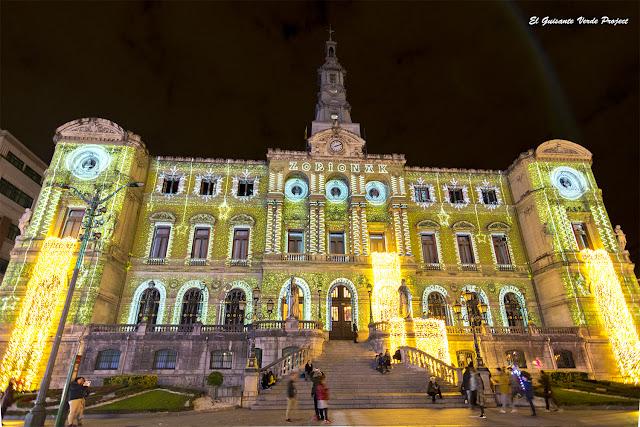 Ayuntamiento de Bilbao en Navidad por El Guisante Verde Project