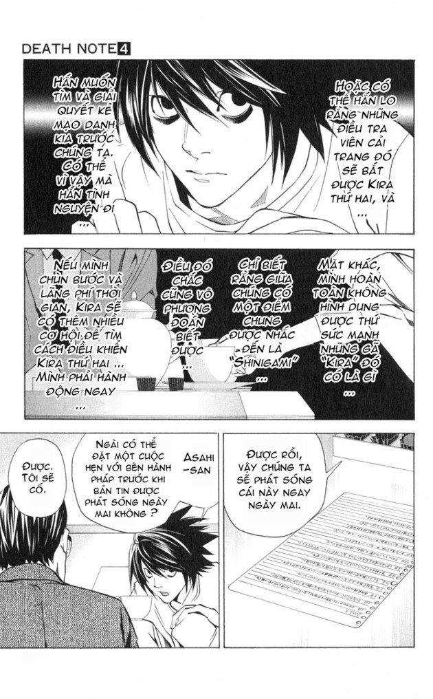 Death Note chapter 028 trang 11
