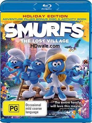 Smurfs The Lost Village (2017) Movie 1080p & 720p BluRay