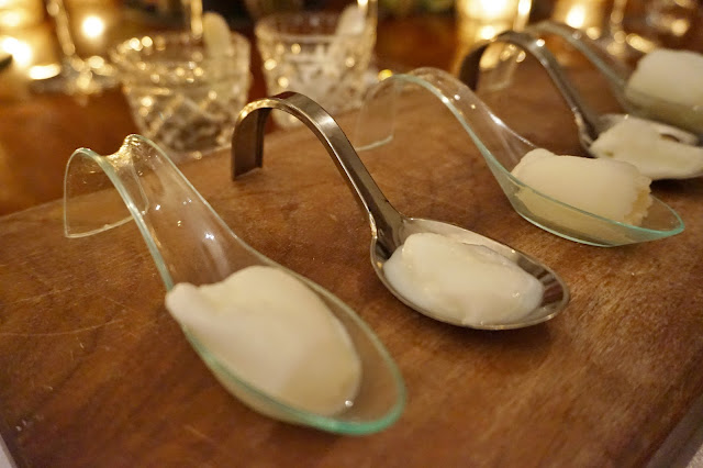 Dine Venues The Mansion Leeds sorbet tasting