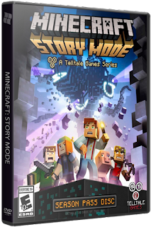 لعبة ميني كرافت للكمبيوتر Minecraft Story Mode  A Telltale Games Series. Episode 1-3 (2015) PC RePack