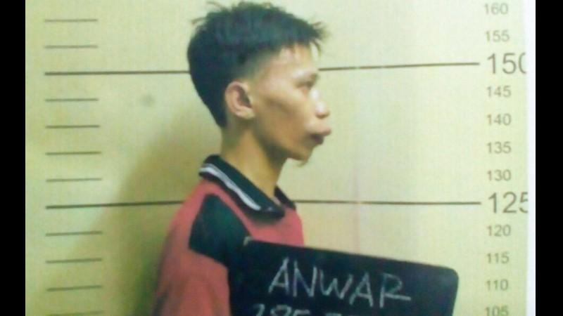 Anwar alias Rizal, napi kasus pembunuhan siswi MTs di Jasinga