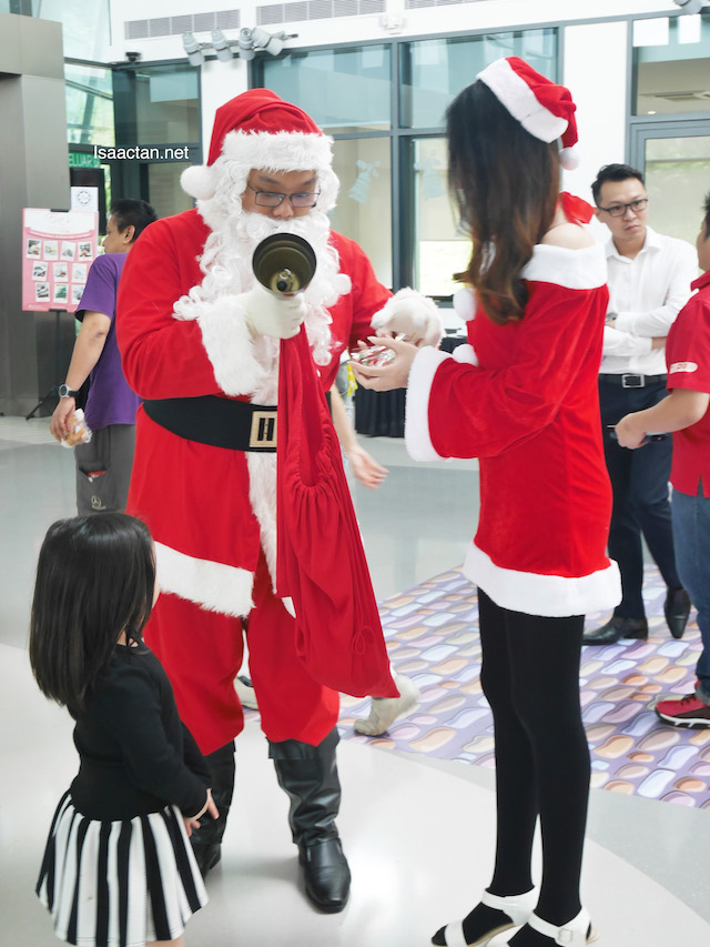 Santa and Santarina at Good Coffee Day 2.0