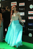 Telugu Actress Angela Krislinzki in transparent top at IIFA Awards 2017 Exclusive 19.JPG