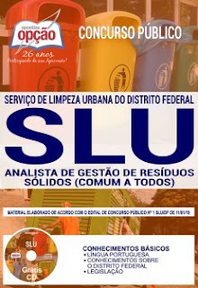 Download Apostila Concurso SLU DF 2019 PDF
