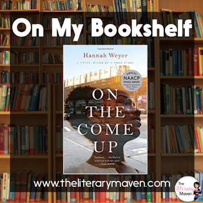 On the Come Up by Hannah Weyer has a strong African American female teenager, AnnMarie, as the main character with excellent dialogue and blocking. This novel, based on a true story, touches on a variety of teen issues, such as mean girls, relationships, drug use, and sexual identity. Read on for more of my review and ideas for classroom application.